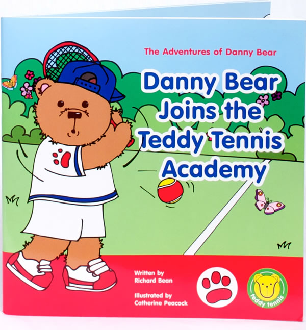 Teddy Tennis Story Book – The Adventures Of Danny Bear (2½ To 6 Years)