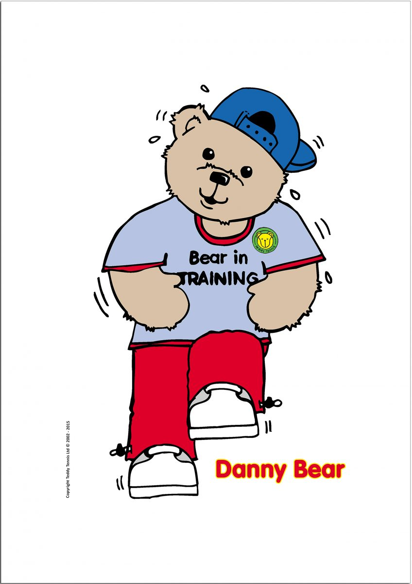 Danny Bear Poster – Bear In Training