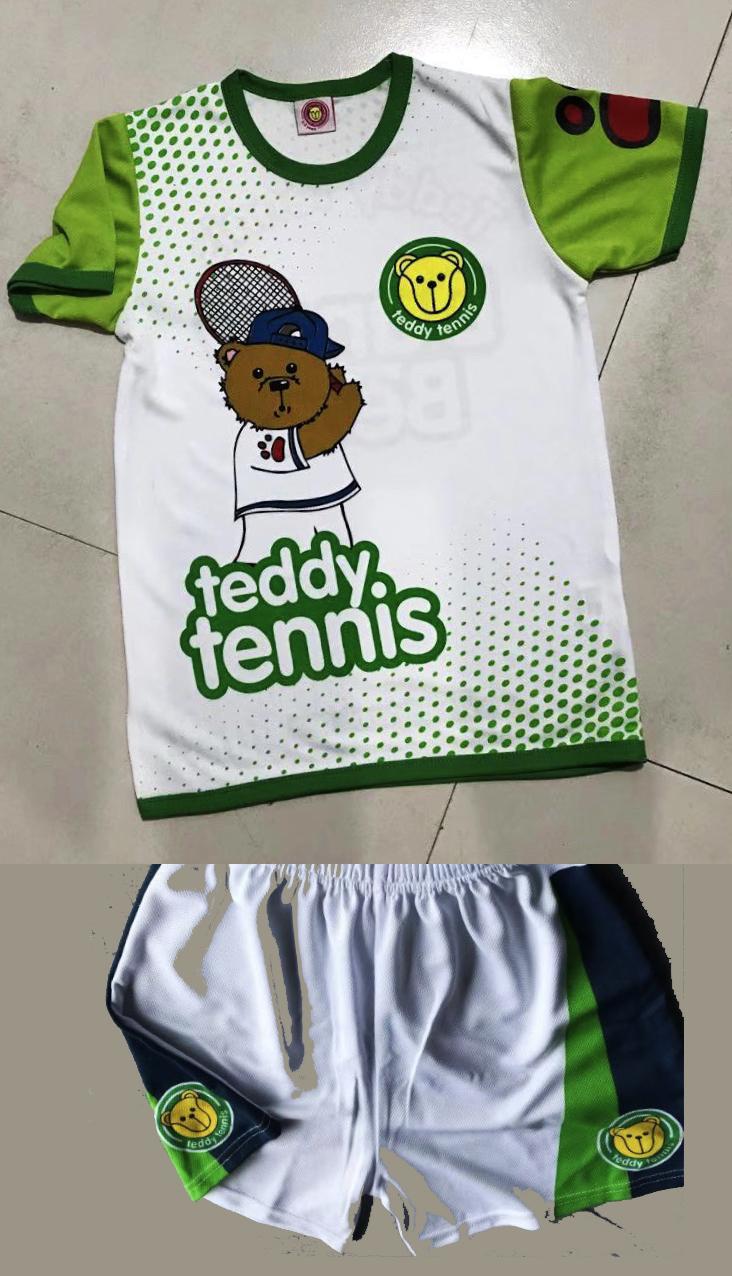 Tennis Shirt & Shorts, 2-3 Years,  Danny Bear Design