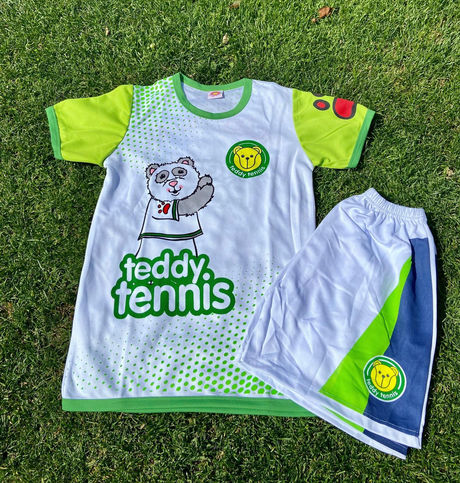 Tennis Shirt & Shorts, 2-3 Years, Amanda Panda Design